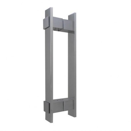 Puxador Vesfer 3098 1¨1/2 Retangular c/ Aplique