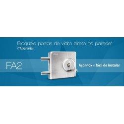 Fechadura JBM FA2 (Vidro x Alvenaria)