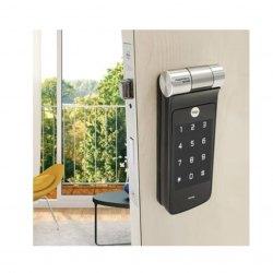 Fechadura Digital Yale YDF 40 Biométrica com trinco Rolete