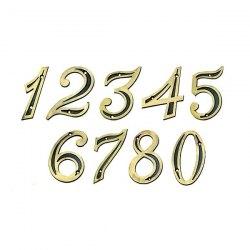 Número residencial Isero